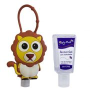 GEL REFRESCANTE 30ML COM HOLDER LEAO - BRASBABY