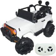 Jipe Elétrico Controle Remoto Branco 12v - Importway