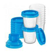Kit 10 copos armazenamento de Leite - Avent