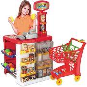 Mercadinho com Acessórios e Leitor de Código - Magic Toys