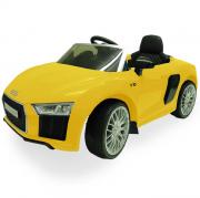 Mini Carro Elétrico Audi R8 6v Amarelo - Xalingo