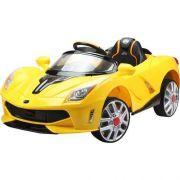 Mini Veículo Elétrico Infantil Luxo Amarelo 12V - BelFix