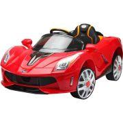 Mini Veículo Elétrico Infantil Luxo Vermelho 12V - BelFix