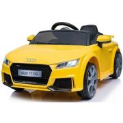 Mini Veículo Infantil Audi TT RS (Amarelo) R/C 12V - Belfix