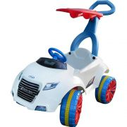 Mini Veículo Infantil Carro com Empurrador Xrover Pedal Branco - Xalingo