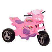 Moto Elétrica Infantil Meg Turbo Rosa 6v - Magic Toys