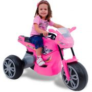 Moto Elétrica Infantil X Turbo Rosa - Xalingo