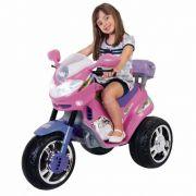 Moto Infantil Fada 6V Rosa/Lilás 1210L - Magic Toys