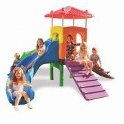Playground Fun Play (Casinha e Escorregador) - Xalingo