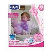 Projetor Bebê Urso Rosa Estrelinhas - Chicco