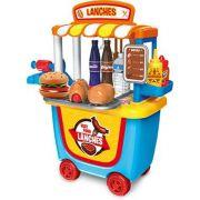 Tendinha Lanches  Fast Food com Rodinhas - Xalingo