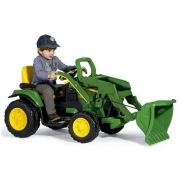 Trator Elétrico John Deere Ground Loader 12volts - Peg-Pérego