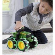 Trator Monster Treads Lightning Wheel John Deere - Peg Pérego