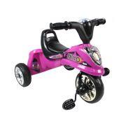 Triciclo Infantil Rosa Miniciclo com Luz - Belfix
