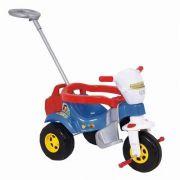 Triciclo Infantil Tico Tico Super Bichos com Aro Azul - Magic Toys
