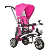 Triciclo Multifuncional 3 em 1 (Empurrador-Triciclo-Bicicleta) Rosa - Belfix
