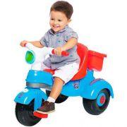 Triciclo Velocita Classic 2 em 1 Azul - Calesita