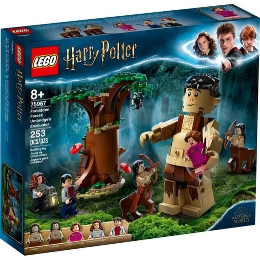 A FLORESTA PROIBIDA: O ENCONTRO DE GROPE E UMBRIDGE (75967) - LEGO