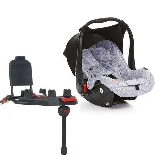 Bebê Conforto Risus Graphite Grey + Base Isofix - ABC Design