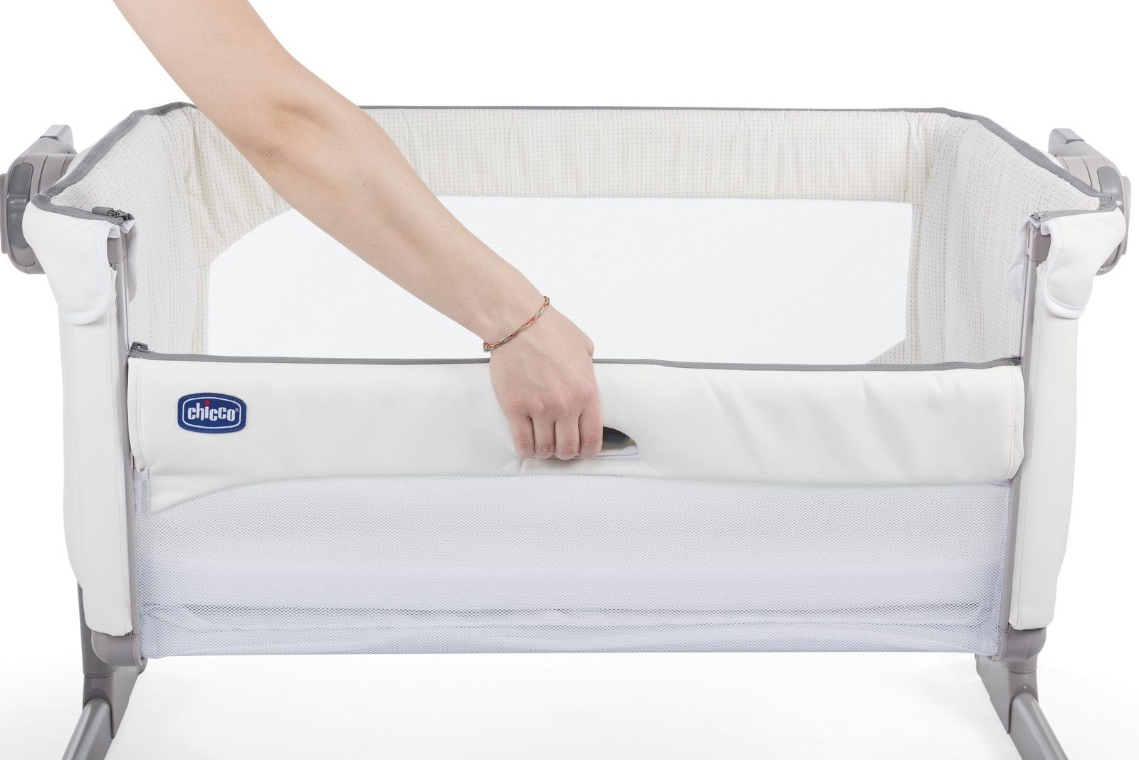Berço Co-Leito Next2me Magic Snow (Branco) - Chicco