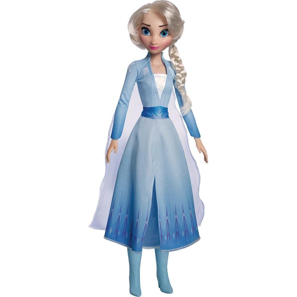 Boneca Articulada Frozen Elsa 55 Cm - My Size - Novabrink