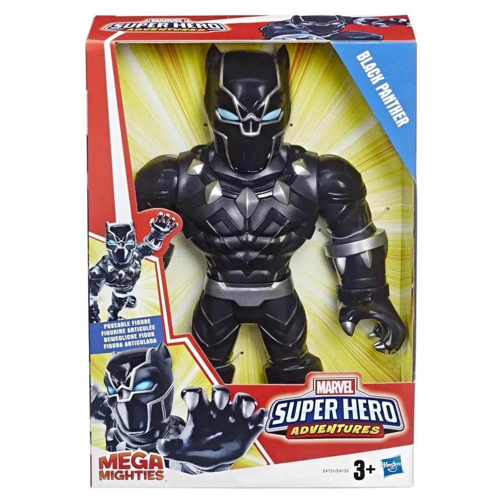 BONECO SUPER HERO MEGA MITHIES PANTERA NEGRA (E4151) - HASBRO