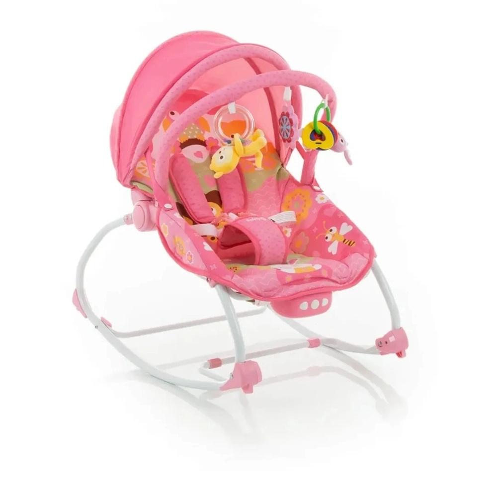 CADEIRA BOUNCER SUNSHINE BABY SAFETY 1ST PINK GARDEN - INFANTI