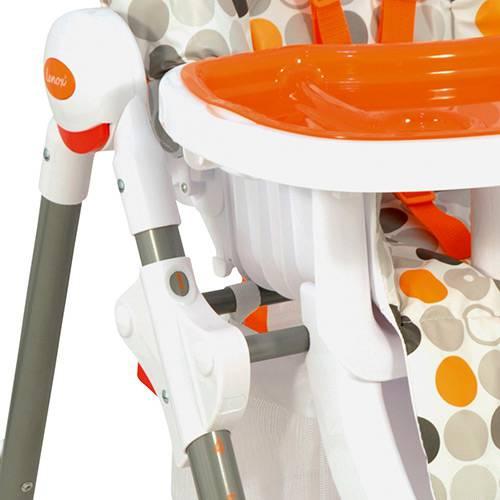 Cadeira De Alimentação Snack Laranja - Kiddo