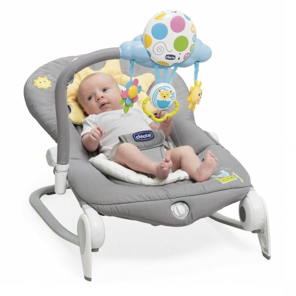 Cadeira de Descanco Balloon Dark Grey - Chicco