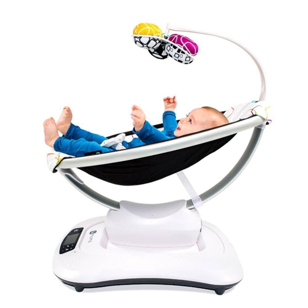 Cadeira de Descanso Elétrica Mamaroo 4.0 Multicolor - 4 Moms