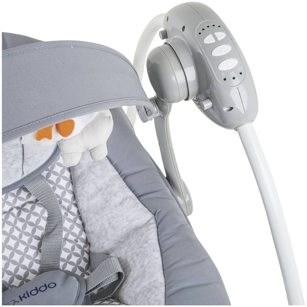 Cadeira de Descanso Mimo Cinza Lenox - Kiddo