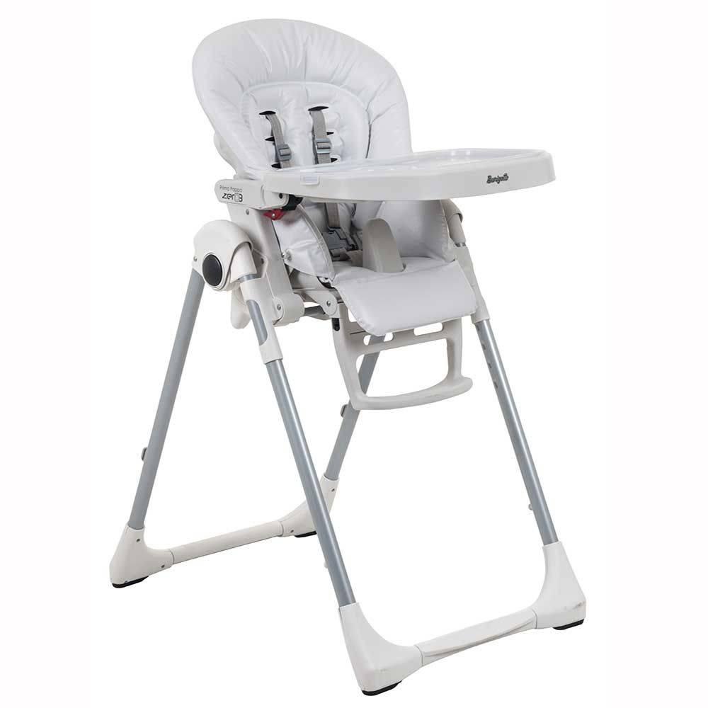 Cadeira de Refeição Prima Pappa 0-3 anos Branco - Burigotto