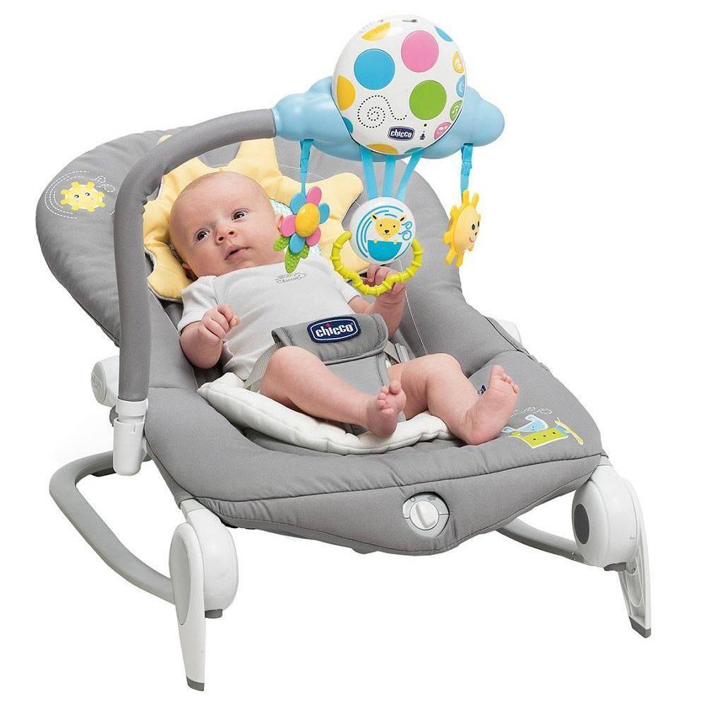 Cadeira Espreguiçadeira Balloon Dark Grey - Chicco