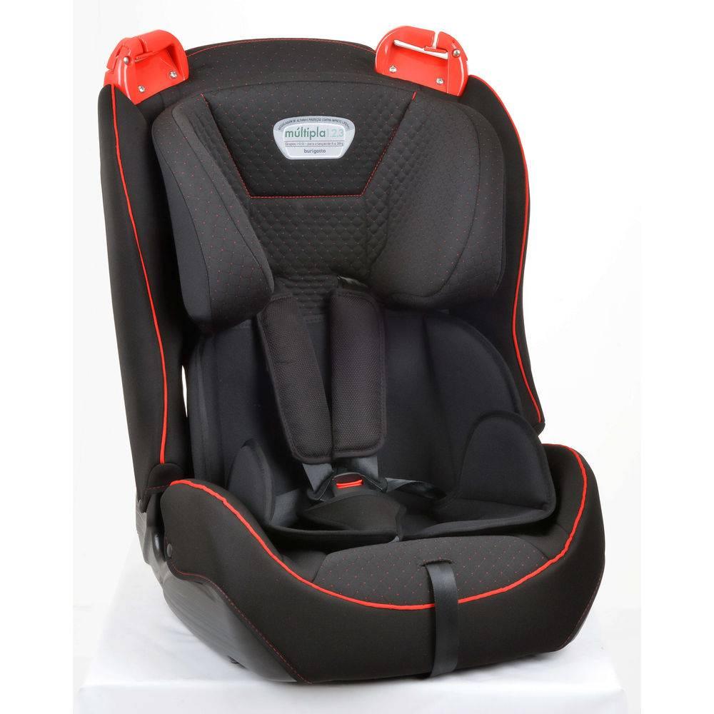 Cadeira para Auto Burigotto Múltipla Dot Vermelho 9kg à 36kg - Burigotto