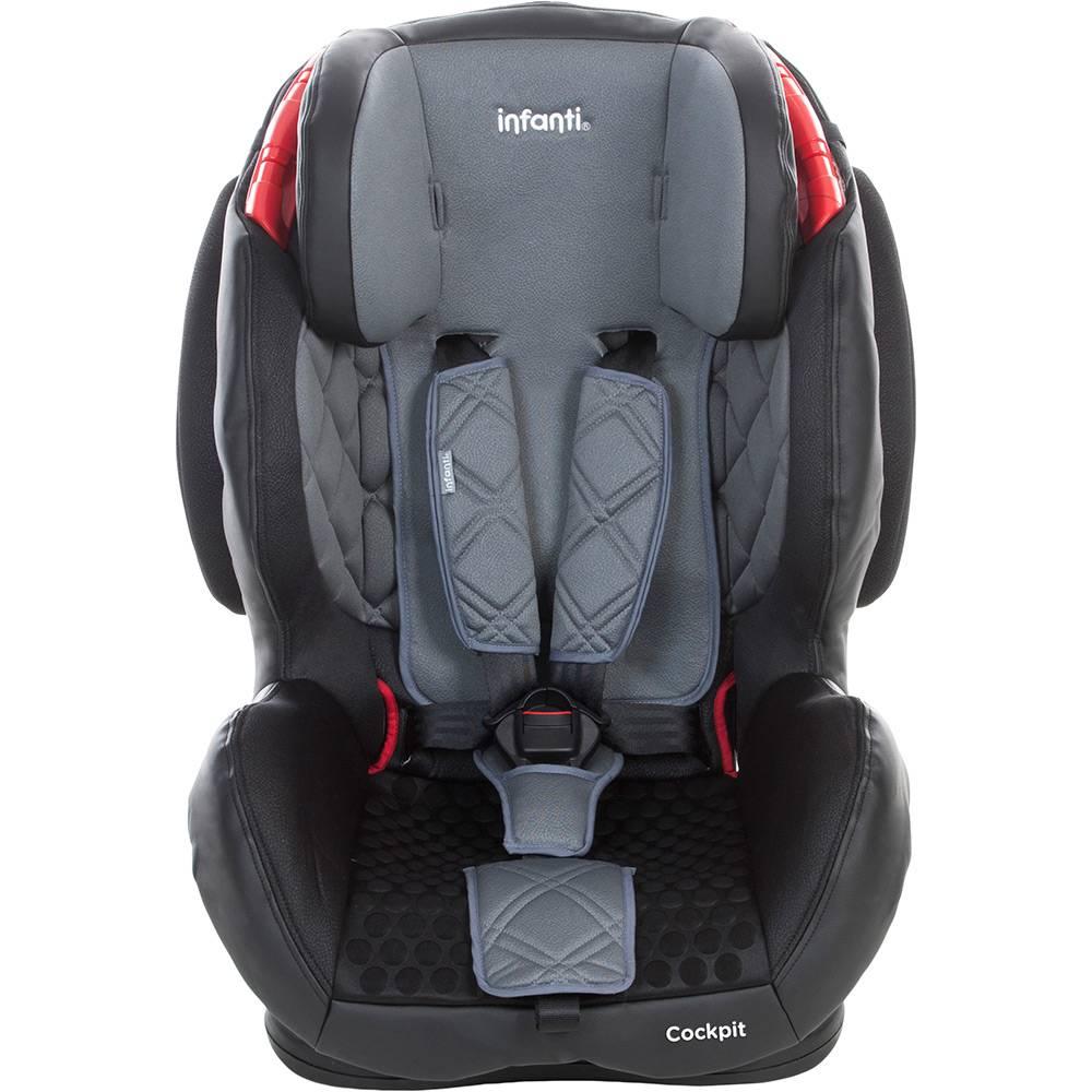 Cadeira Para Auto Cockpit Grafito (Preto e Cinza) 9 A 36 Kg - Infanti