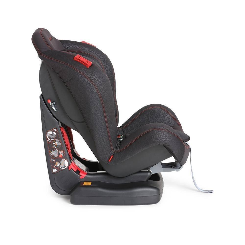Cadeira para Auto Flyn de 9 a 25Kg Preto - Galzerano