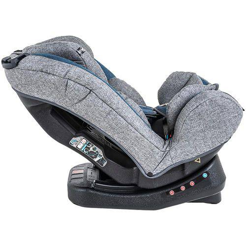 Cadeira Para Auto Grow Cinza e Azul 0 a 36 Kg - Kiddo