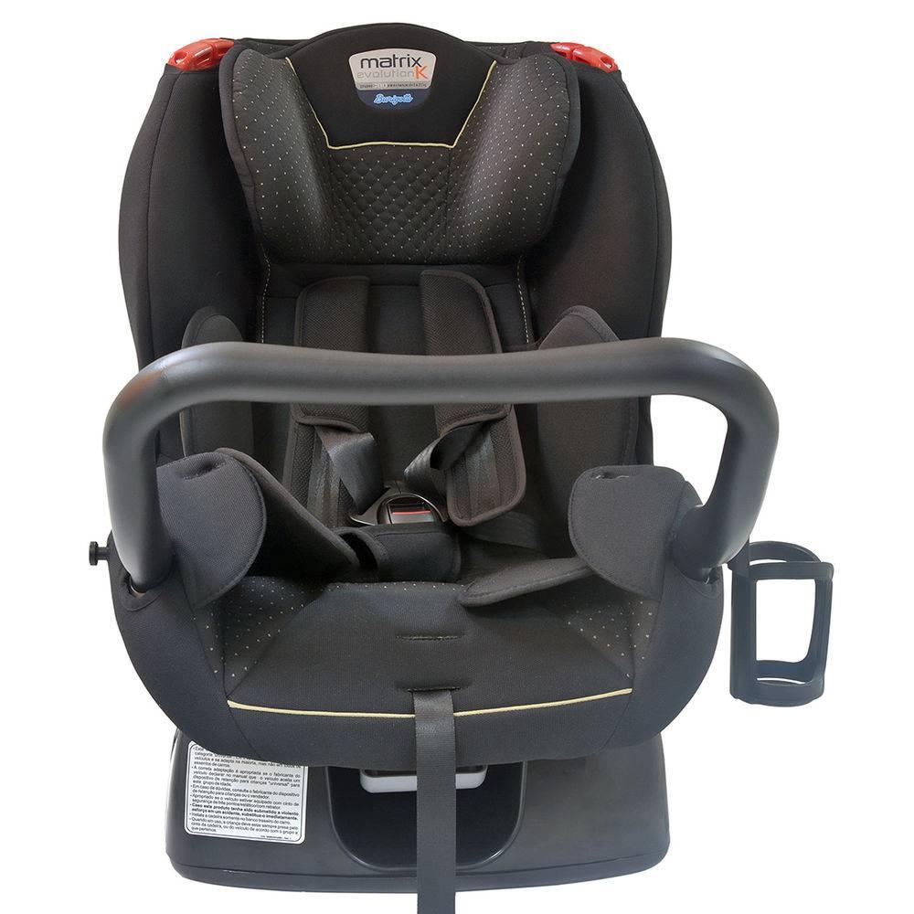 Cadeira para Auto Matrix Evolution K - Dot Bege Até 25Kg - Burigotto