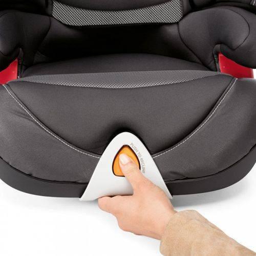 Cadeira para Auto Oasys 2-3 FixPlus EVO Stone - Chicco
