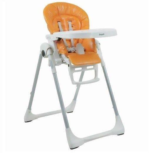 Cadeirinha de Refeição Prima Pappa 0-3 anos Orange - Burigotto