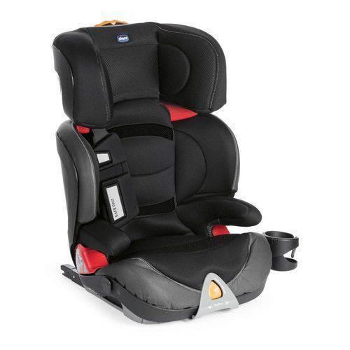 Cadeirinha para Auto Oasys 2-3 FixPlus EVO Jet Black - Chicco