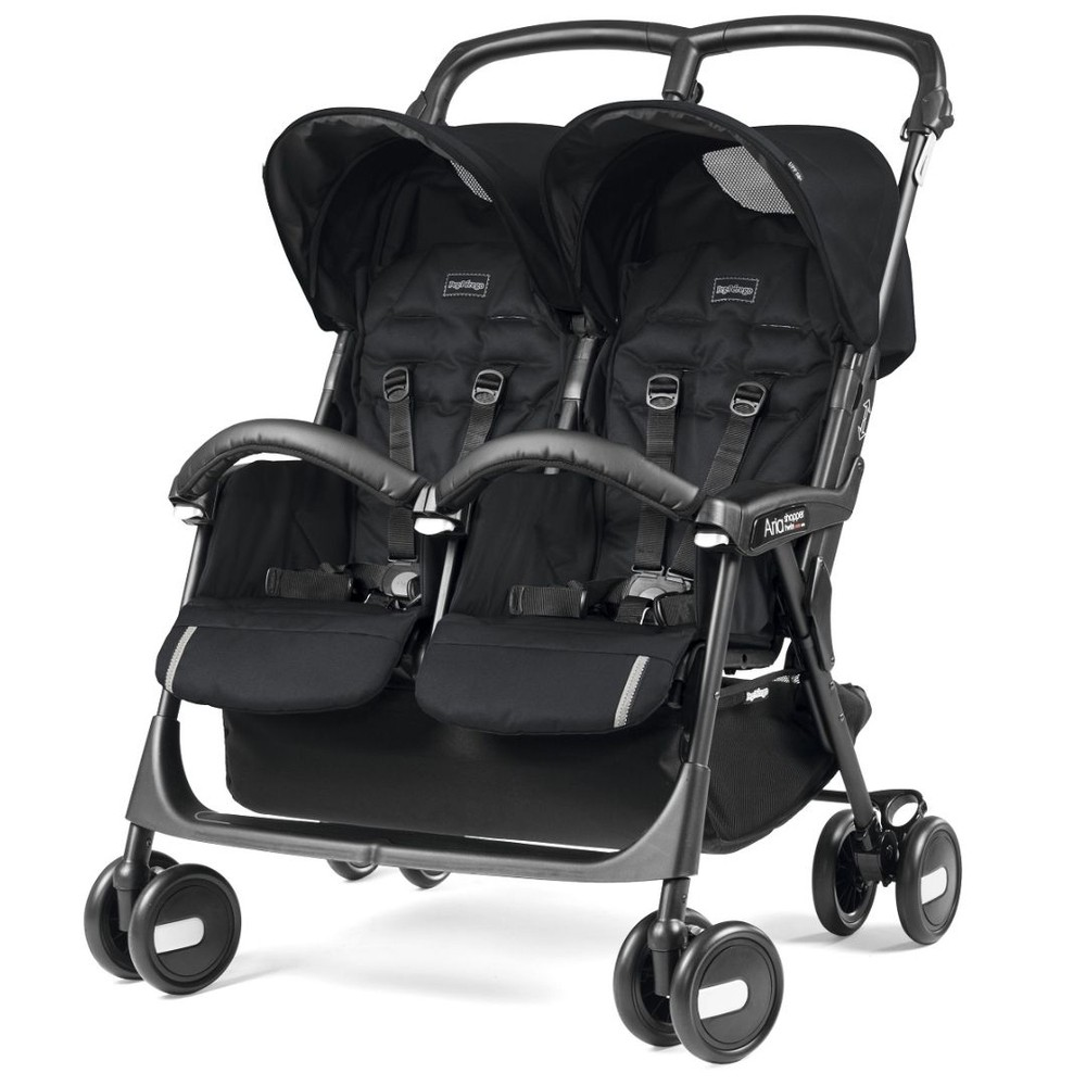CARRINHO ARIA SHOPPER TWIN CLASS BLACK - PEG PEREGO