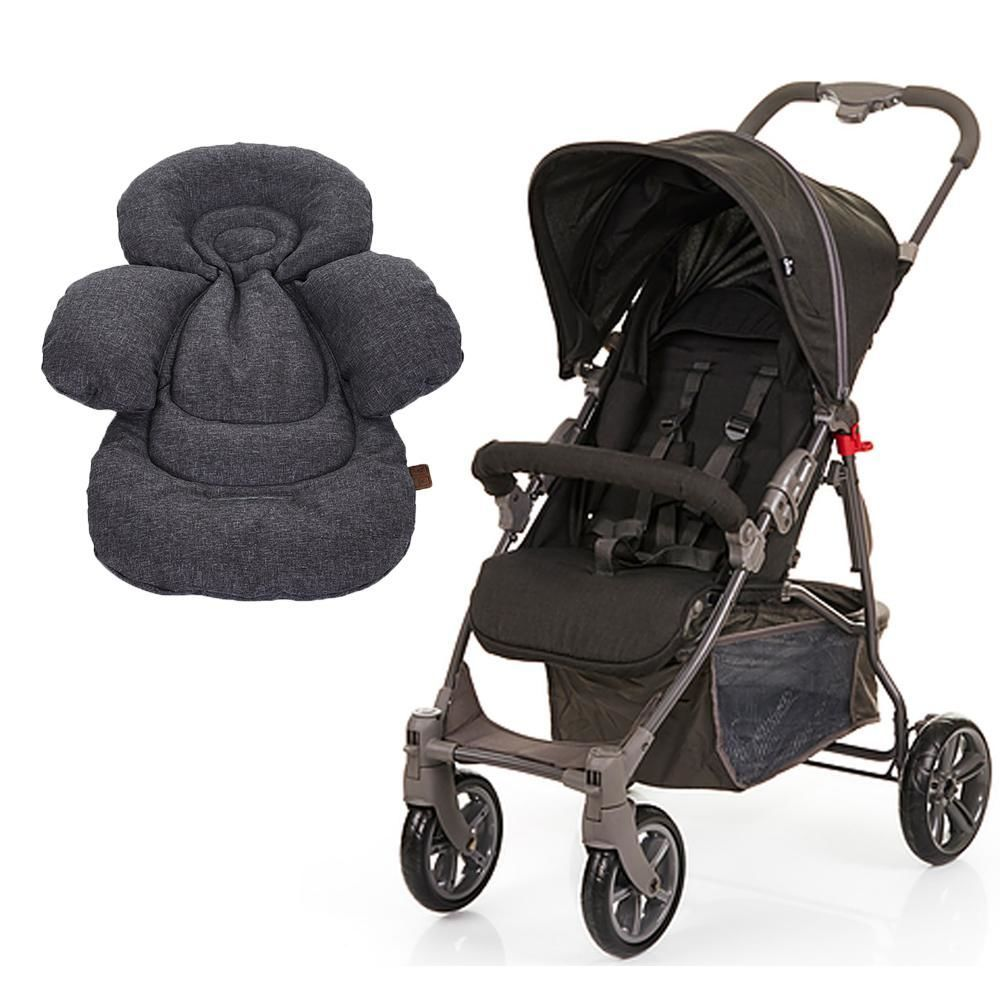Carrinho de Bebê ABC Design Treviso 4 Woven Black + Confort Seat Liner