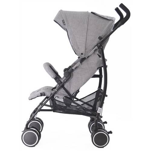 Carrinho De Bebê Genua Woven Gray - Abc Design