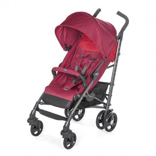 Carrinho De Bebê Lite Way 3 Basic Red Berry (Vermelho) - Chicco