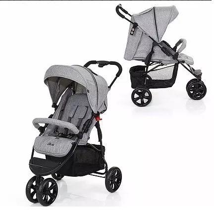 Carrinho De Bebê Passeio Moving Light Graphite Grey (Cinza) - ABC Design