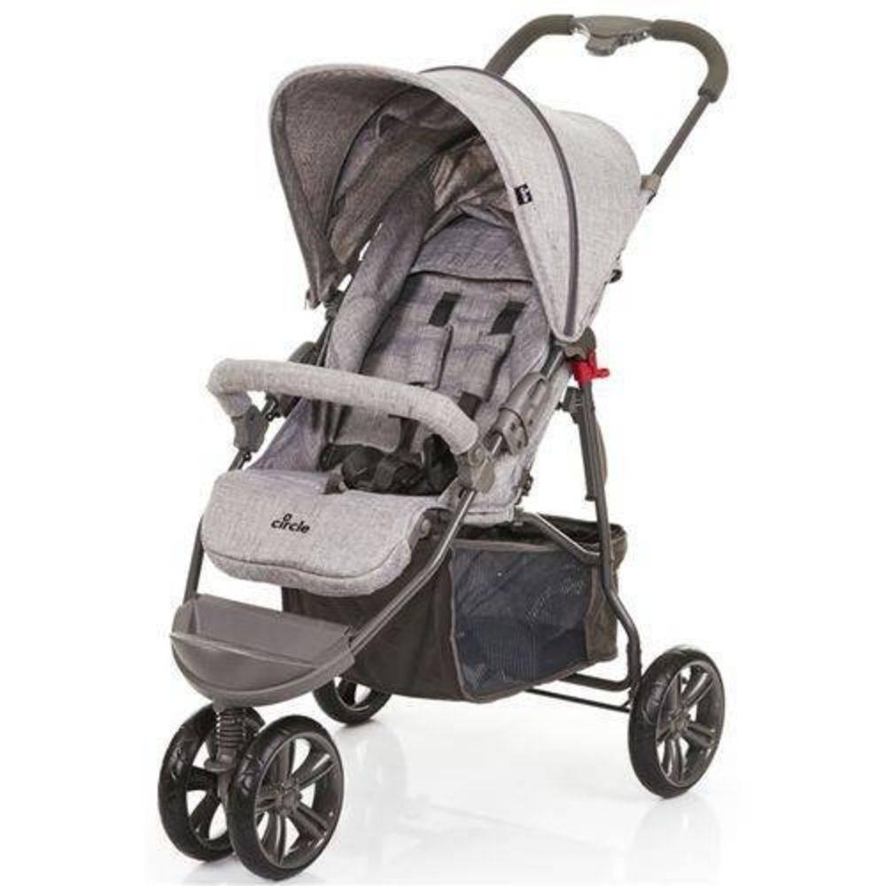 Carrinho De Bebê Passeio Moving Light Graphite Grey (Cinza Claro) - ABC Design