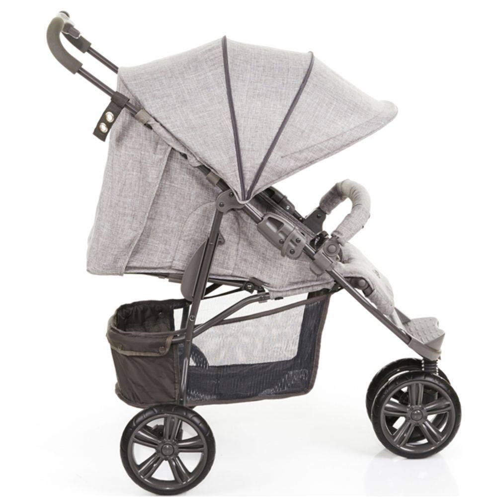 Carrinho De Bebê Passeio Moving Light Woven Gray - ABC Design