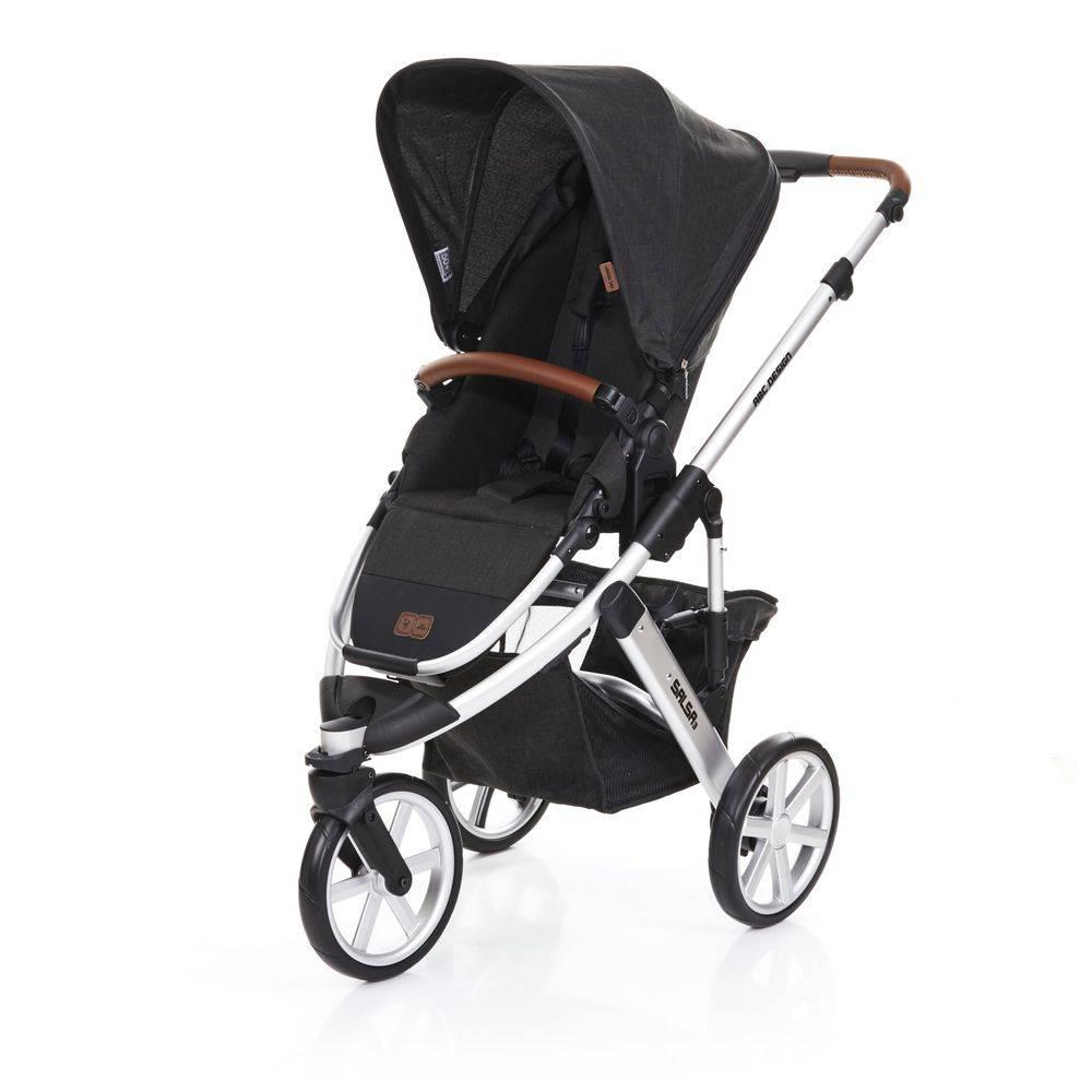 Carrinho de Bebê Salsa 3 Rodas Piano (Preto) - ABC Design