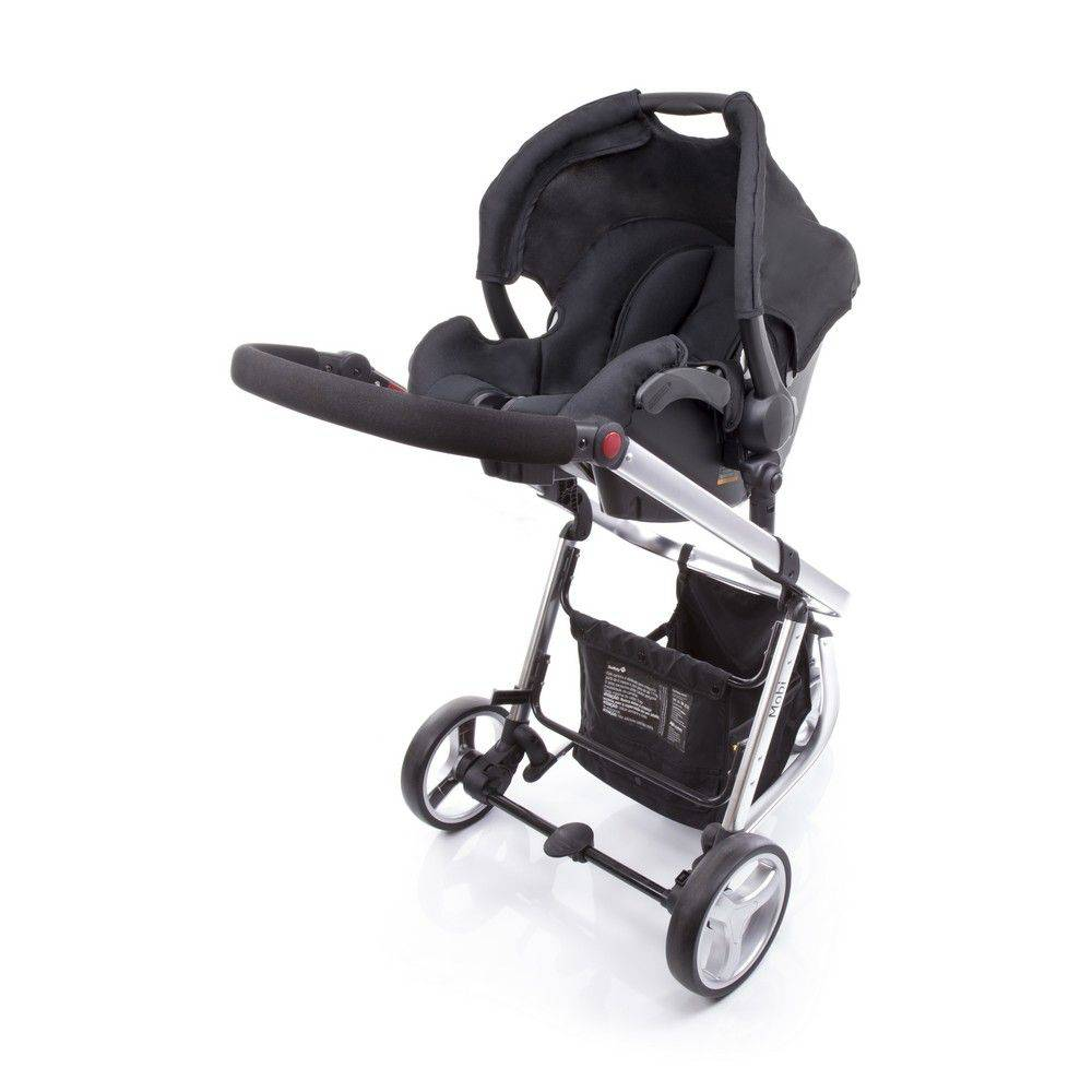Carrinho de Bebê Travel System Mobi Safety 1st Preto e Prata